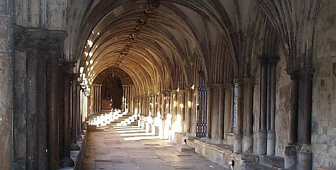 Norwich Cathedral Cloisters image